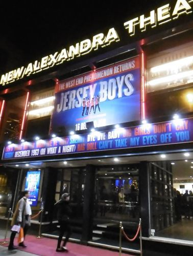 Jersey Boys, Frankie Valli & The Four Seasons, New Alexandra Theatre Birmingham, Tommy DeVito, Simon Bailey, Nick Massi, Lewis Griffiths, Bob Gaudio, Declan Egan, Frankie Valli, Michael Watson