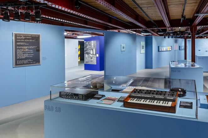 Manchester Science and Industry Museum, music, Factory Records, exhibition, Tony Wilson, Joy Division, New Order, North West Film Archive, Granada TV, Hacienda nightclub