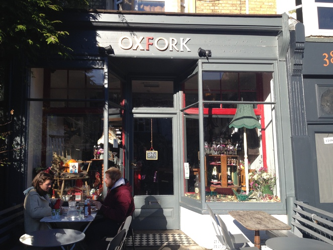 oxfork, oxford, cafe