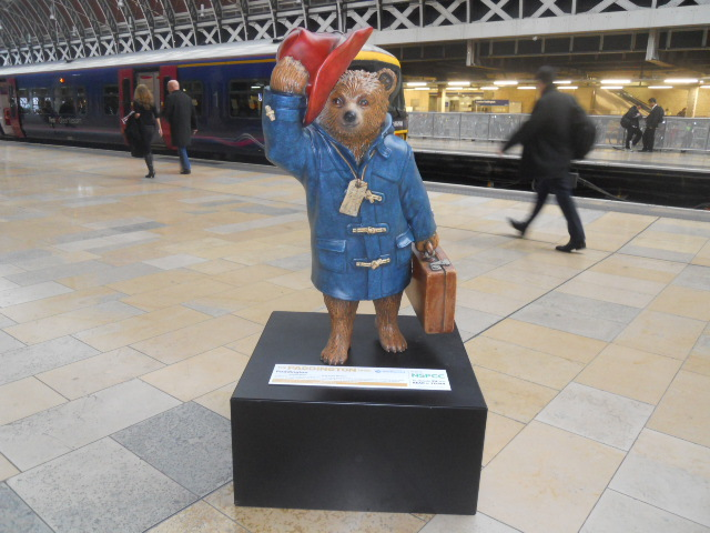 paddington trail, paddington bear, michael bond