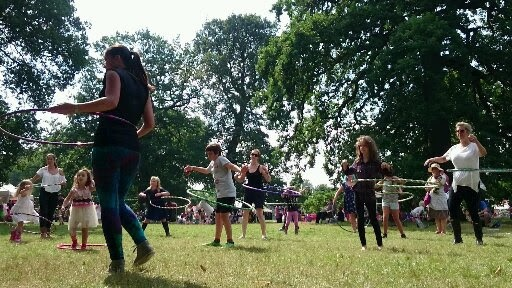 Spintaneous, hula hoop classes, Birmingham