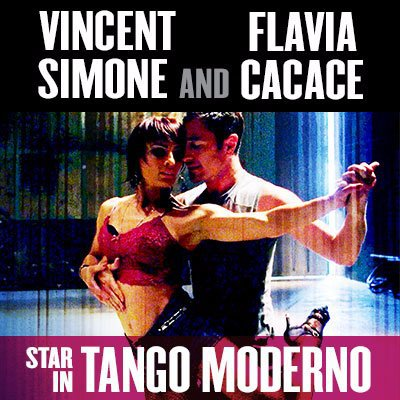 Tango Moderno, Vincent Simone and Flavia Cacace, Strictly Come Dancing, Uk Tour