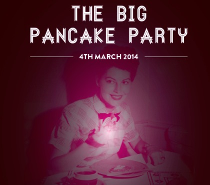 the big pancake party, pancake day, shrove tuesday, secret showcase presents