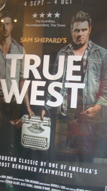 True West, True West theatre review, theatre review, London theatre, London theatre reveiw