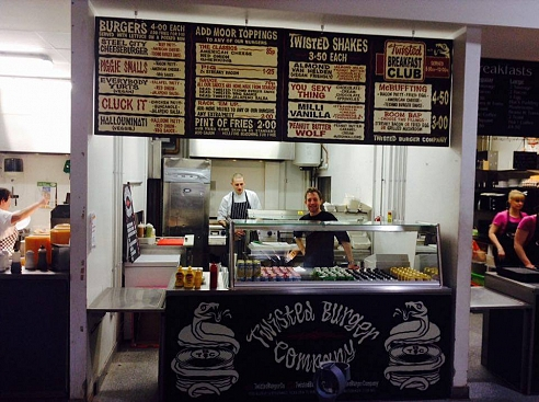 Twisted burger co, burgers, the moor, moor market, moor, sheffield