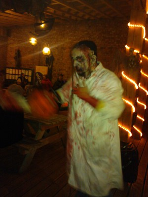zombie york maze hallowscream