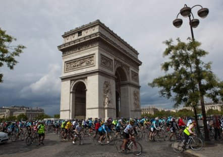 action for kids, london to paris cycle