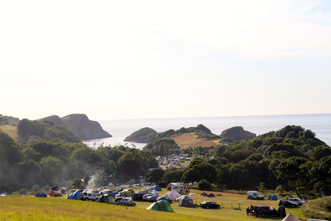 camping,Broadsands Beach,devon,england,uk