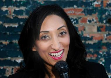 Shazia Mirza, comedy, london, barnes, arts depot