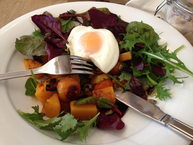 Sweet potato hash, Hartley Farm Shop and Cafe