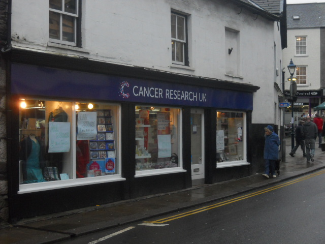 ulverston, chairty shop, cancer research