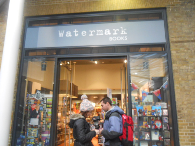 watermark books, king's cross