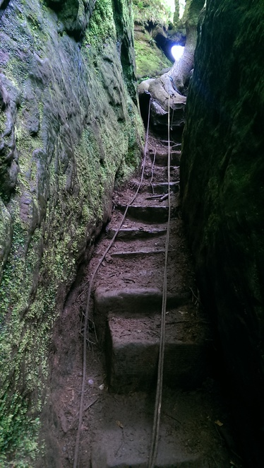 Devil's Pulpit, Finnich Glen, Gorge Walk, Outdoor Adventure, Near Glasgow