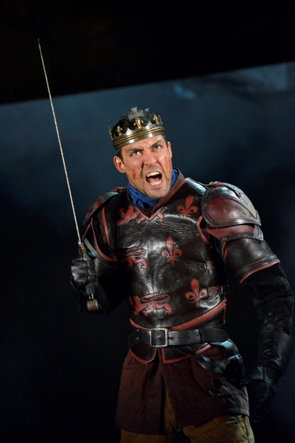 Henry V, Alex Hassell, Gregory Doran, RSC, Royal Shakespeare Theatre, Barbican, King and Country Series, theatre review