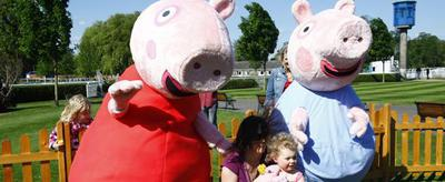 kempton, family fun days, peppa pig