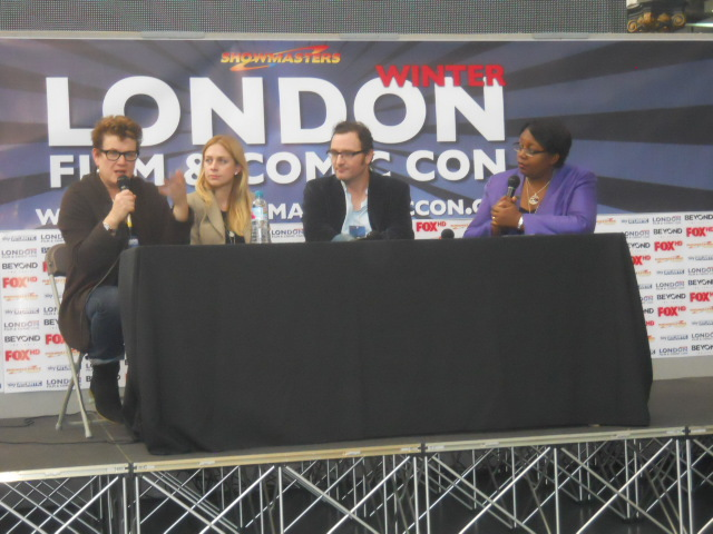 london film and comic convention, winter, kennsington olympia, olympia grand hall, lfcc, authors' panel, malorie blackman, meg rosoff