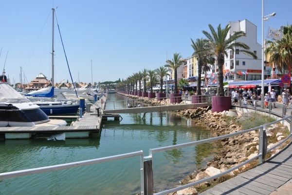 Marina de vilamoura in Algarve, Portugal, where brummies go on holiday