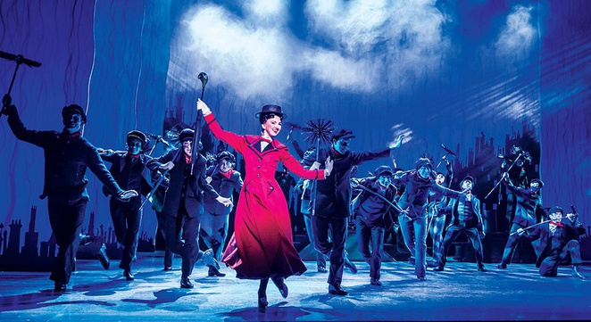 Mary Poppins Birmingham hippodrome. Shows for kids