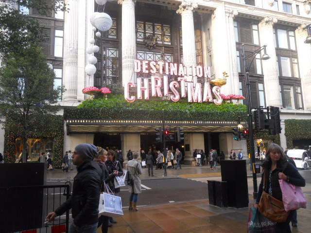 selfridges, christmas emporium, destination christmas