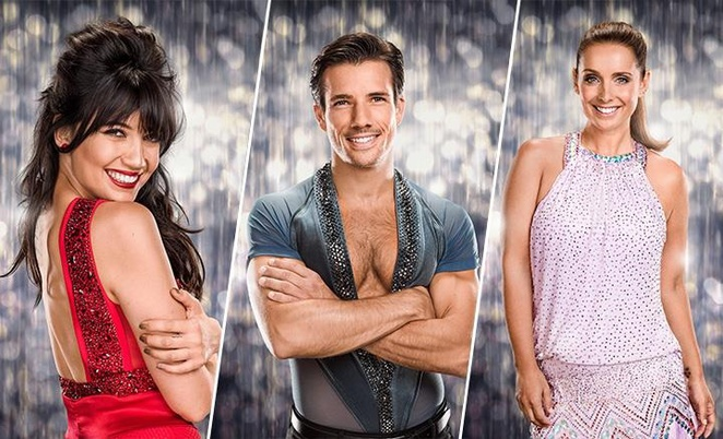 Strictly come dancing 10th anniversary live tour, Louise Redknapp , Danny Mac, daisy Lowe