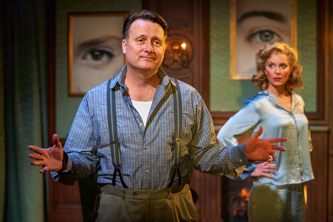 The cat and the Canary, classic thriller company, UK tour, Malvern Theatres