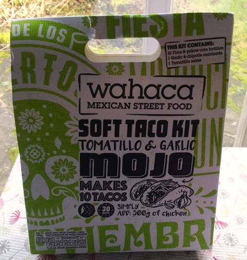 wahaca soft taco kit, thomasina miers, review, Alison Brinkworth