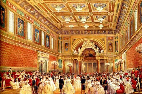 buckingham palace, ballroom