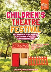 children's theatre festival, canary wharf