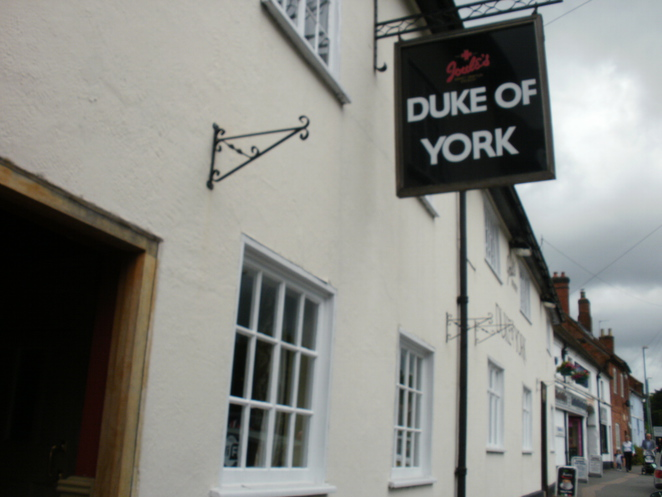 Duke of York, Lichfield, Joule's brewery, pub