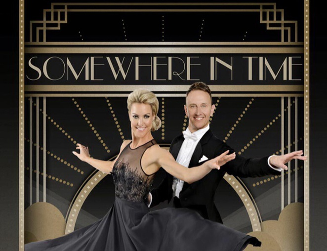 Ian Waite and Natalie Lowe, strictly dancers on tour