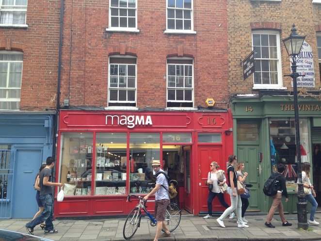 Magma books Covent Garden