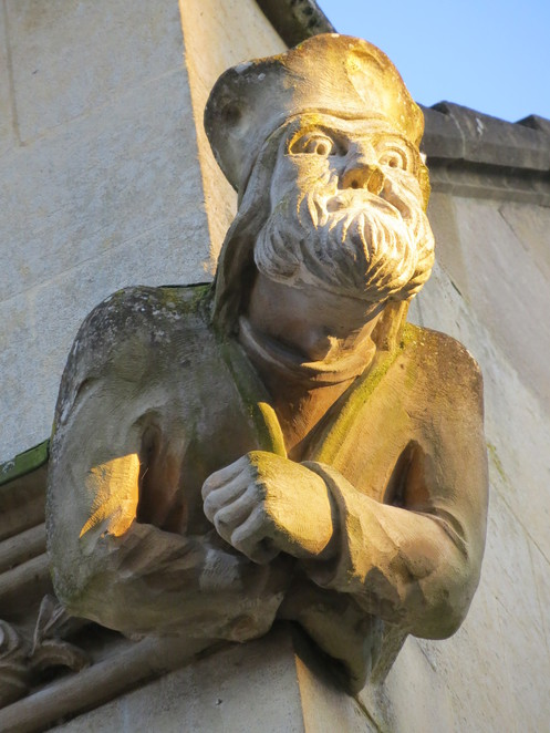 merton, college, oxford, grotesque
