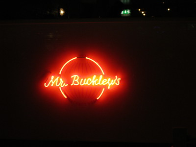 Mr. Buckley's, neon, hackney, restaurant, tapas