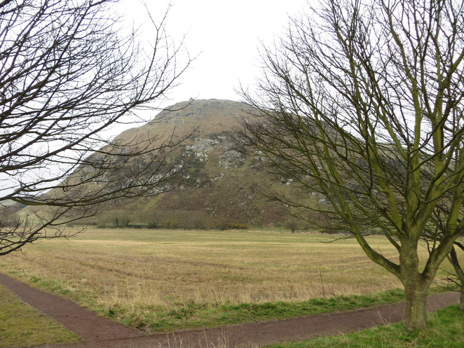 north berwick, law, hill