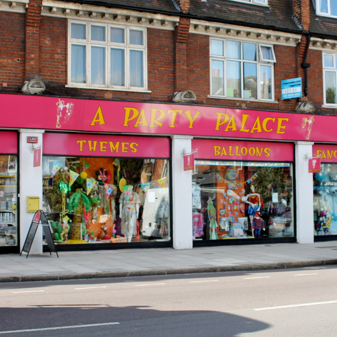 Party Palace, East Sheen, Upper Richmond Road