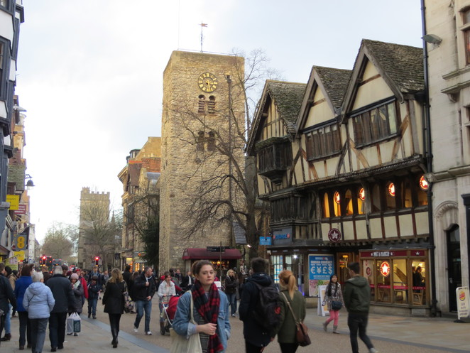 st, michaels, northgate, church, oxford, tower