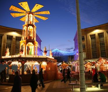 The Christmas Market in Broadmead