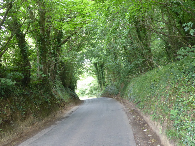 The road from Odd Down
