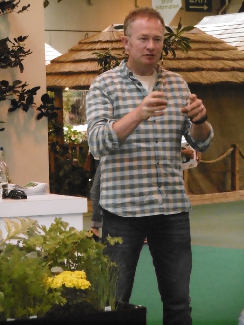 Toby Buckland BBC Gardeners World Live BBC Good Food Show Summer