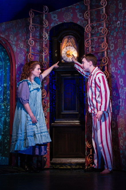 Tom's Midnight Garden, Birmingham Stage Company, Birmingham Old Rep Theatre, David Tute, Caitlin Thorburn