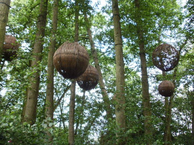Trentham Gardens, Capability Brown, woodland trail, sculptures