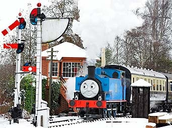 A Day out with Thomas to Meet Father Christmas