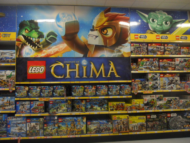 colliers wood, priory retail park, toys r us, lego, star wars
