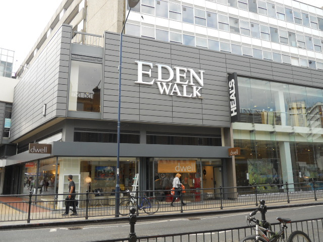 kingston, eden walk