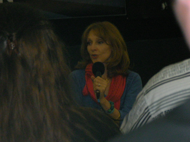 london film & comic convention, lfcc, gates mcfadden, talk
