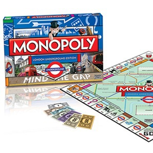 monopoly, london underground