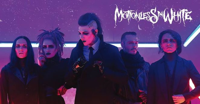 motionless in white, motionless in white uk tour, graveyard shift album, engine rooms, live music southampton, southampton gigs, metalcore
