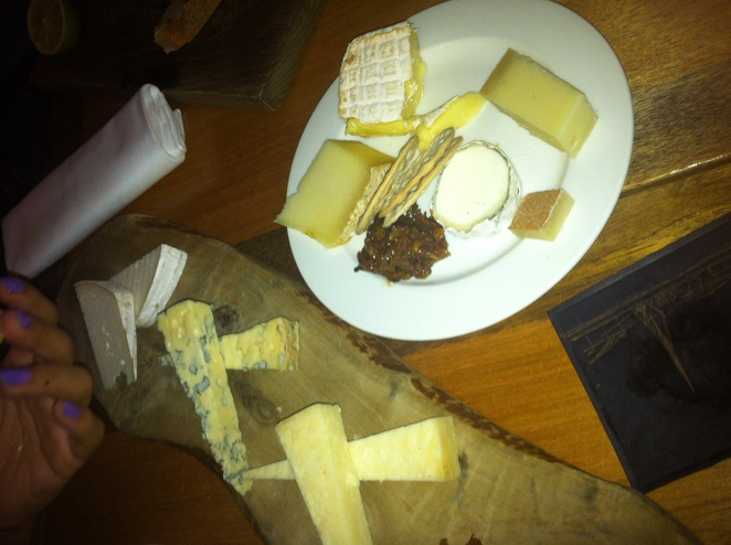 Skylon, bar, Southbank, cheese, snack