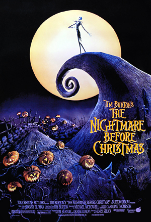 the nightmare before christmas, strawberry hill, gothic