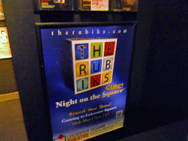 the rubiks, a night on the cube